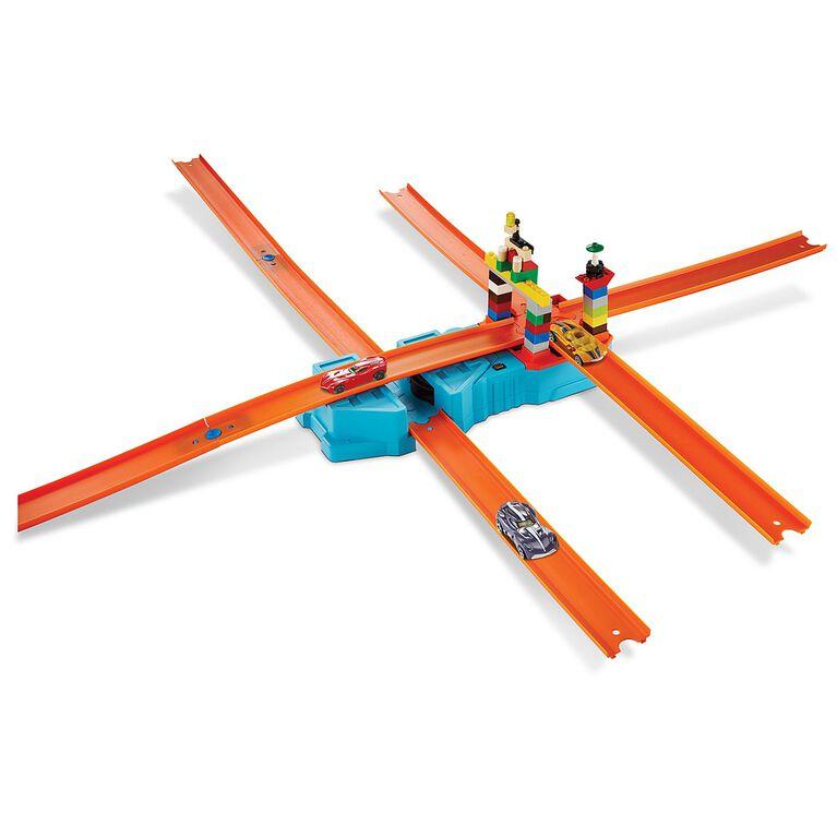 Hot Wheels - Track Builder - Propulseur. - Notre Exclusivité
