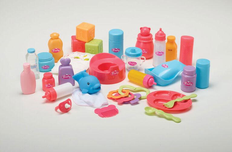 You & Me - Ensemble de 30 accessoires pour poupée - R Exclusif
