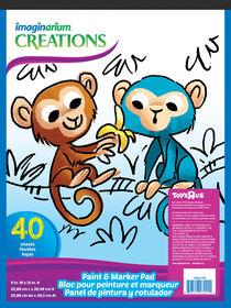 Imaginarium Paint & Marker Pad 40 sheets
