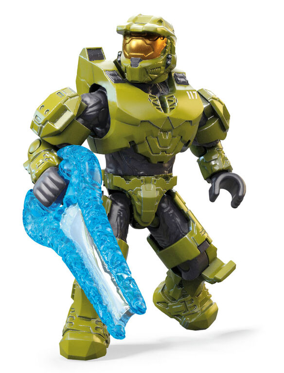Mega Construx Heroes Halo Master Chief Vs. Brute Warrior