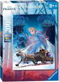 Puzzle La Reine des Neiges 2 - La forêt mystérieuse 200 Pièces