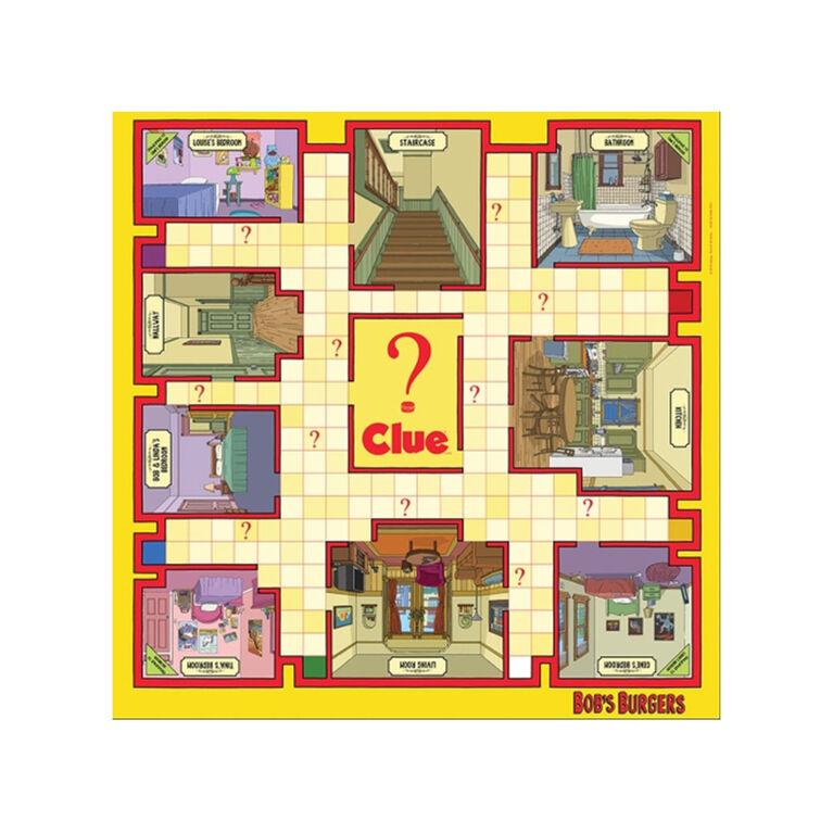CLUE: Bob's Burgers Jeu De Plateau - Édition anglaise