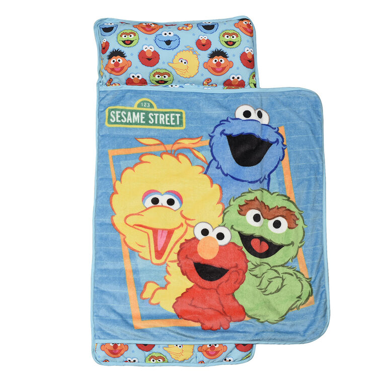 Toddler Nap Mat Blanket, Sesame Street
