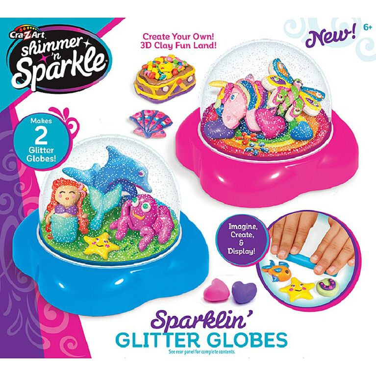 Cra-Z-Art - Shimmer 'n Sparkle Glitter Dome Kit