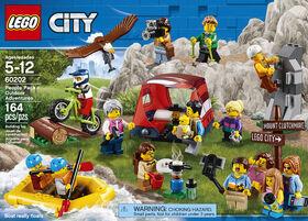 LEGO City Town Ensemble de figurines - Les aventures en 60202