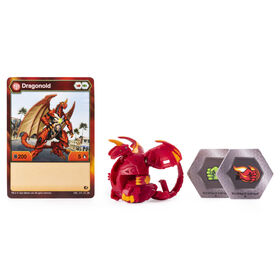 Bakugan, Dragonoid, Créature transformable à collectionner de 5 cm.
