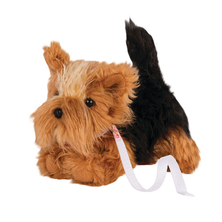 Our Generation, Yorkshire Terrier Pup, Pet Dog Plush with Posable Legs