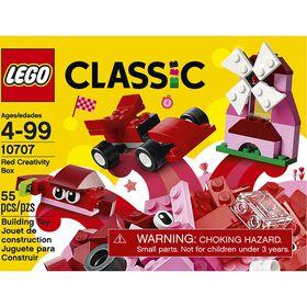 LEGO LEGO Classic La boîte créative rouge 10707.