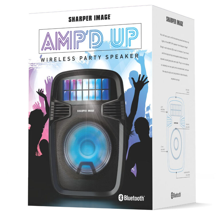 Art+Sound AMP''d UP Wireless Speaker - Édition anglaise