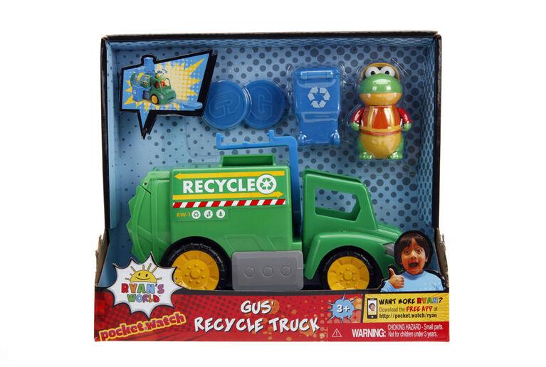 Camion de recyclage de 15cm avec Gus