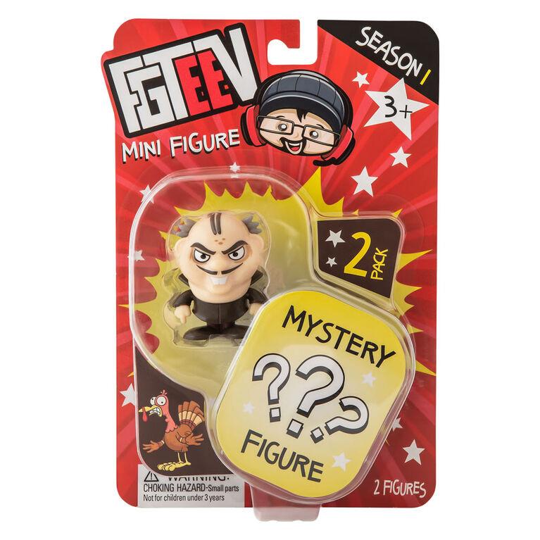 Duo de figurines mystères FGTeeV - Édition anglaise