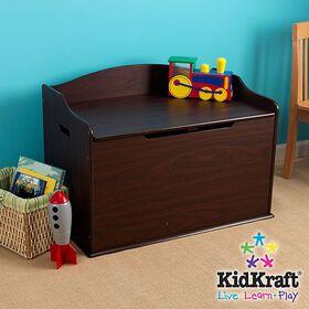 KidKraft Austin Toy Box - Espresso