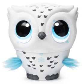 Owleez, Flying Baby Owl Interactive Toy with Lights and Sounds (White)  049789