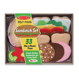 Melissa & Doug - Aliments en feutre - Sandwiches