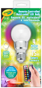 Crayola - Remote-Controlled Multi-color LED Bulb