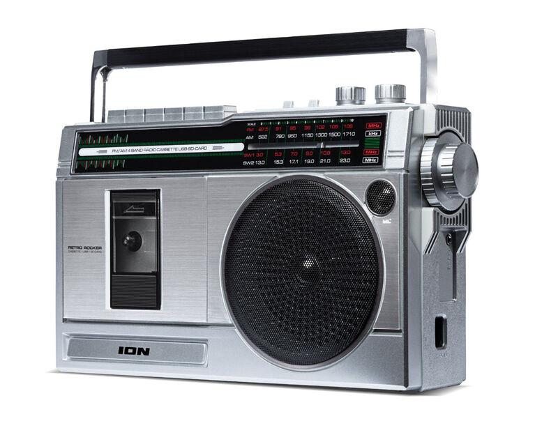 Ion Retro Rocker Speaker Retro Compact Boombox