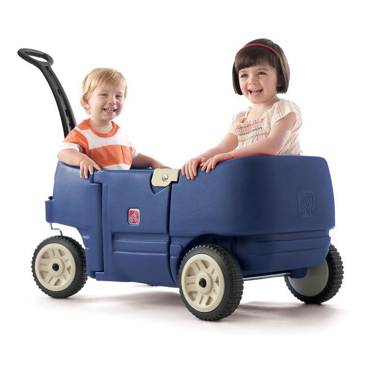 Wagon For Two Plus - Denim Blue