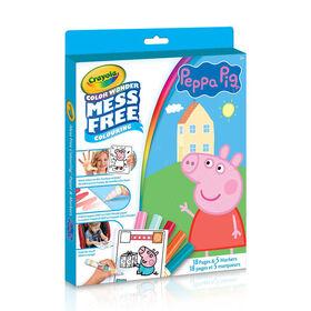 Crayola - Trousse Color Wonder, Peppa Pig