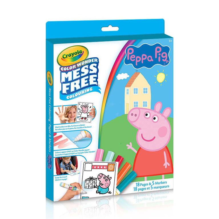 Crayola - Color Wonder Kit, Peppa Pig