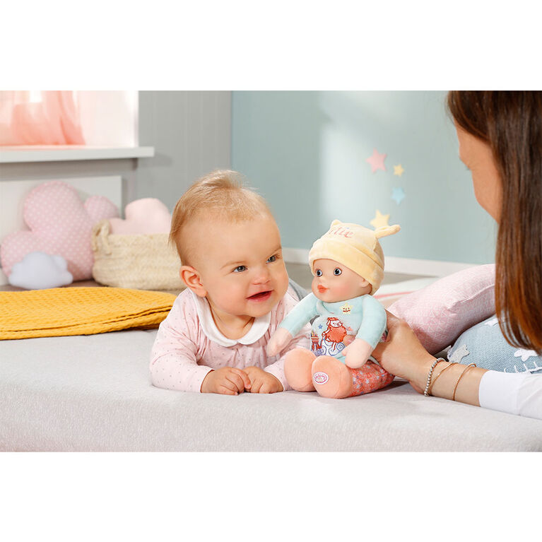 Adorable poupée Baby Annabell de 30 cm pour bébé, avec hochet à l'intérieur - Notre exclusivité