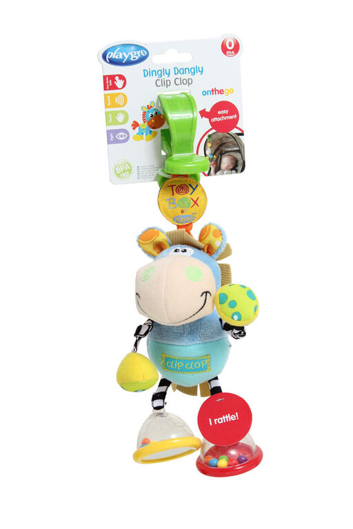Playgro - Toy Box Dingly Dangly Clip Clop