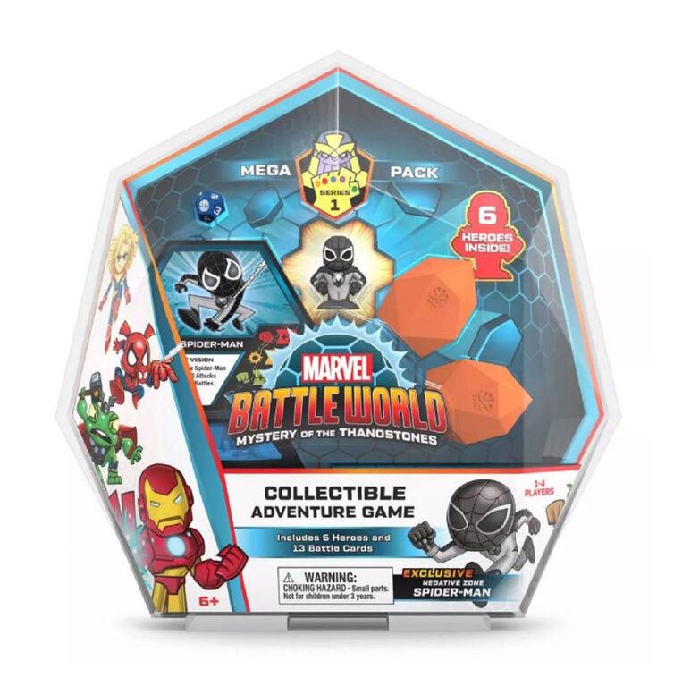 Méga pack Marvel Battleworld Series 1 - Spider-Man (zone négative)