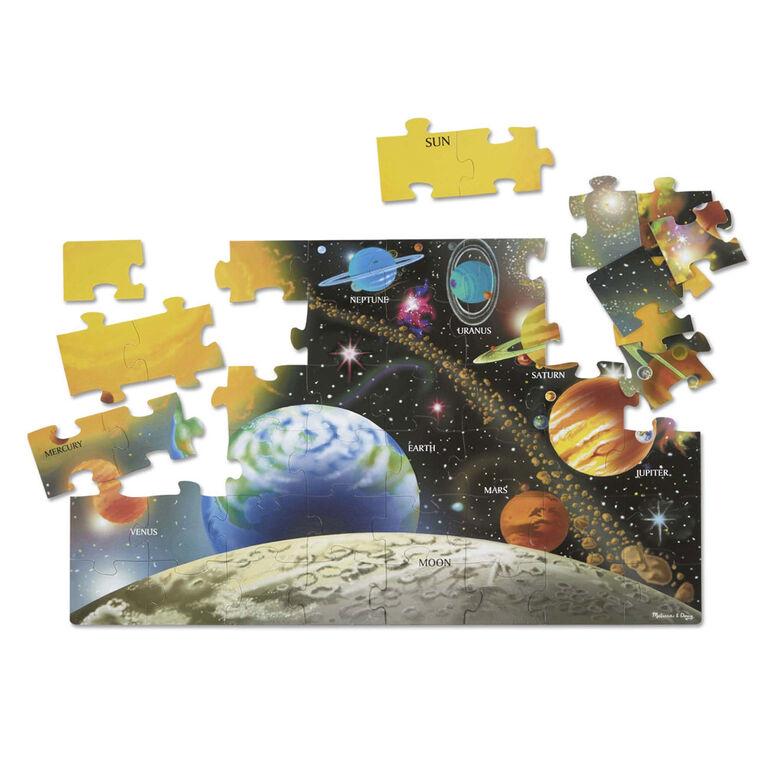 Melissa & Doug Solar System Floor Puzzle - 48 pieces - 60.96cm x 91.44cm