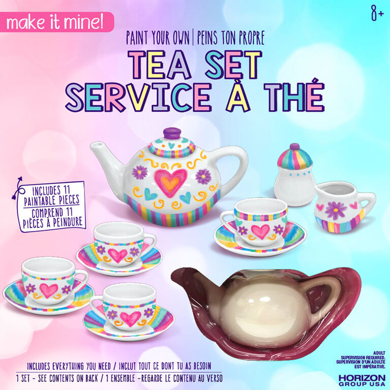 Make It Mine Paint Your Own Tea Set - R Exclusive