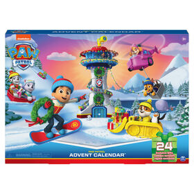 PAW Patrol, 2021 Advent Calendar with 24 Exclusive Toy Figures and Accessories