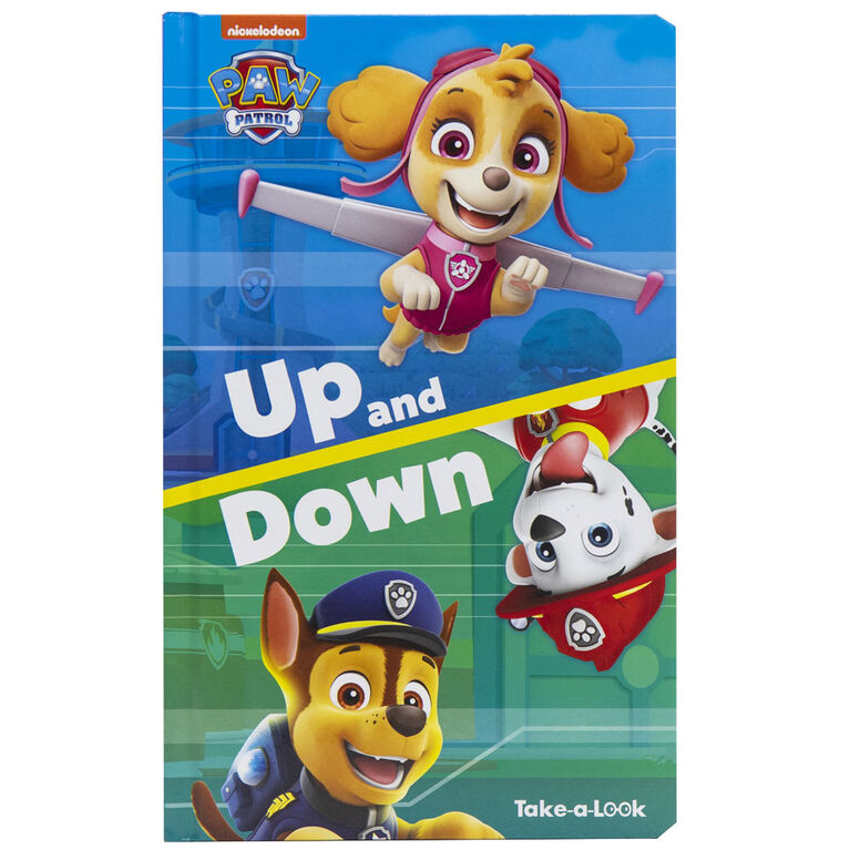 Take A Look Book Paw Patrol - English Edition