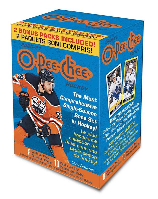 Blaster O-Pee-Chee de la LNH 20-21