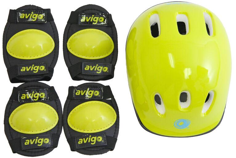 Ensemble casque et protecteurs Avigo - Pour Enfants