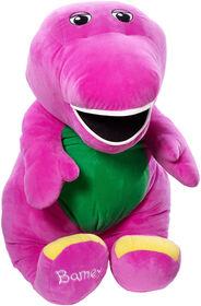 Fisher-Price Barney Speak 'n Sing Jumbo Plush Figure - English Edition