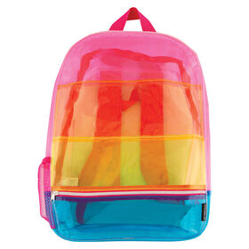 Fashion Angels - Transparent Rainbow Backpack
