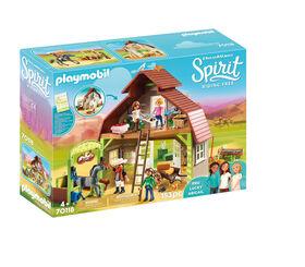 Playmobil Spirit Grange avec Lucky, Apo et Abigaëlle