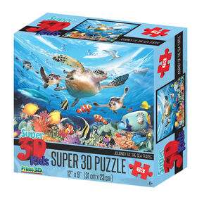 Howard Robsinson Sea Wonders 63 Piece Super 3DPuzzle