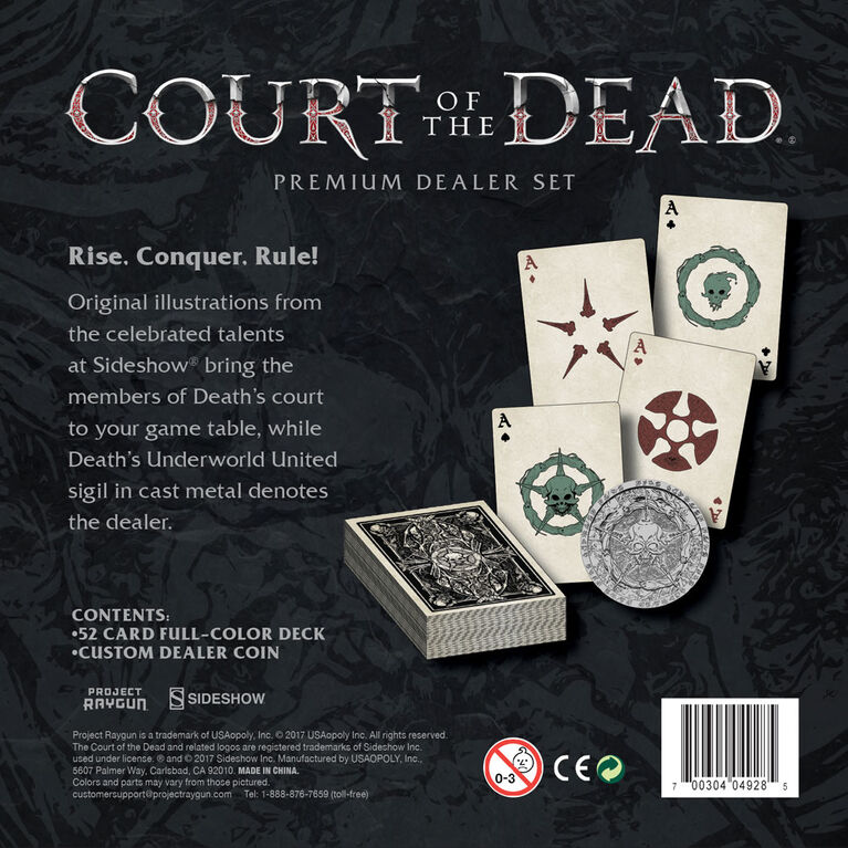 Court of the Dead Playing Card Set