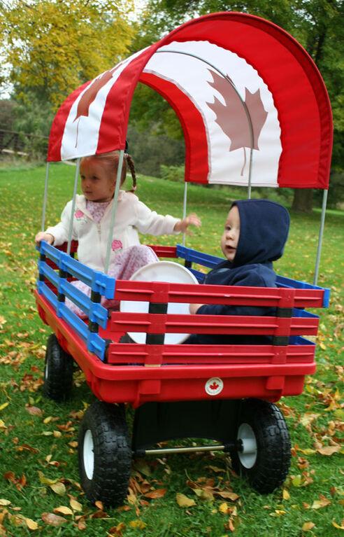 Millside - Chariot Trekker 20 po x 38 po avec drapeau du Canada