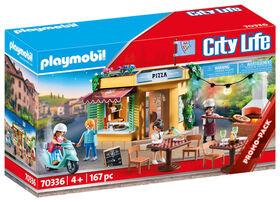 Playmobil - Pizzeria avec terrasse