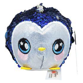 """Squeezamals - 3.5"""" Sequins - Penguin"""