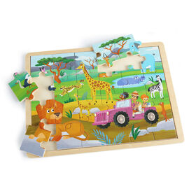 Imaginarium Discovery - Wooden Jigsaw Puzzle Assortment - Zoo