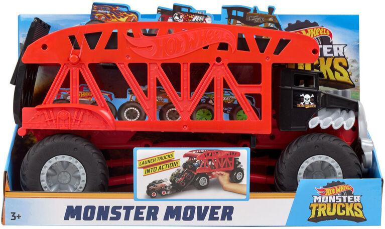 Hot Wheels Monster Trucks Monster Mover - English Edition