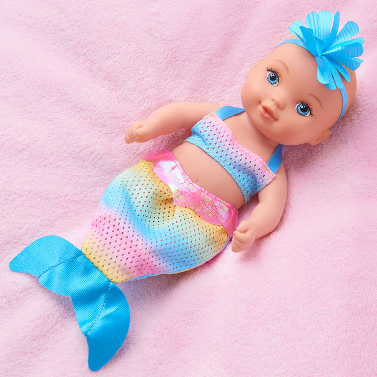 Waterbabies Sweet Cuddlers Rainbow Mermaid