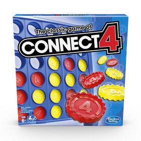 Jeu Connect 4 de Hasbro Gaming - les motifs peuvent varier