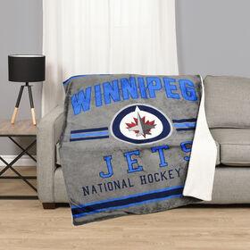 NHL Team Throw - Winnipeg Jets