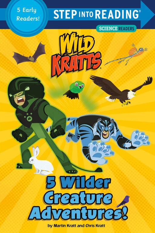5 Wilder Creature Adventures (Wild Kratts) - Édition anglaise