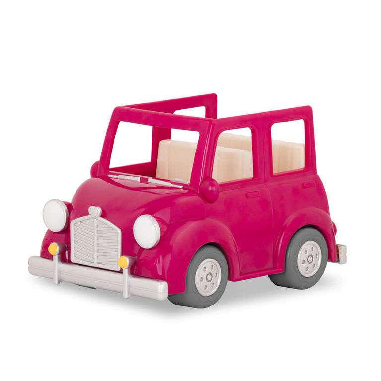 Breezy Buggy, Woodzeez, Voiture rose avec accessoires