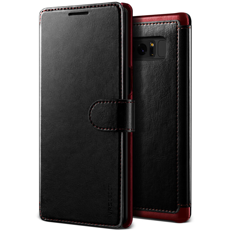Vrs Design Layered Dandy Case for Samsung Galaxy Note8 Black (VRSGN8LDDBK)