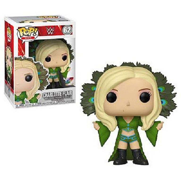Funko POP! TV: WWE - Charlotte Flair Vinyl Figure