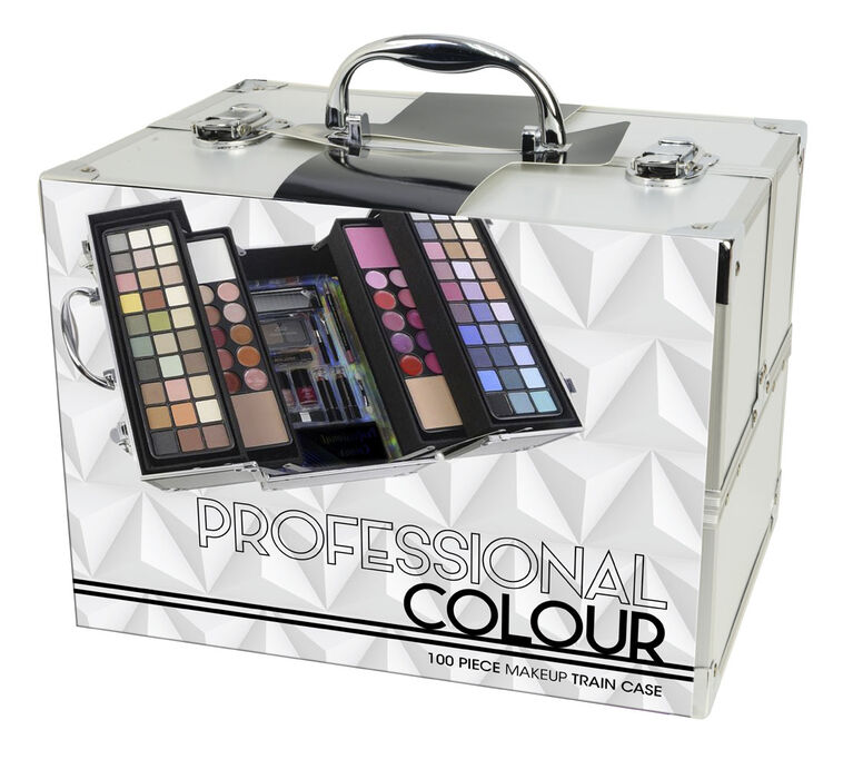 The Color Workshop -  Pro Colour 100pc Cosmetic Train Case